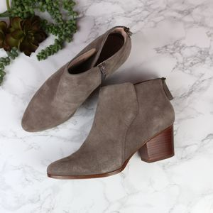 Sole Society River Taupe Ankle Boots 9